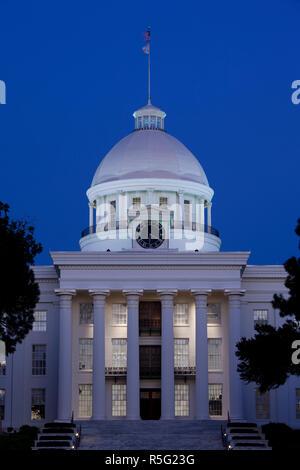 Stati Uniti d'America, Alabama, Montgomery, Alabama State Capitol Immagini Stock