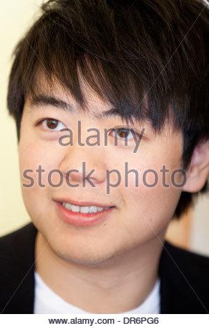 Close-up di Lang Lang 12 giugno 2012 Immagini Stock