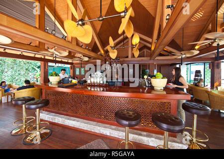 Bamboo Bar, Sofitel Legend Metropole Hotel Hanoi, Vietnam Immagini Stock