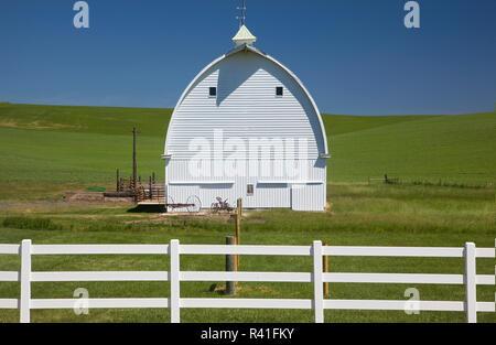 Stati Uniti d'America, nello Stato di Washington, Palouse barn Immagini Stock