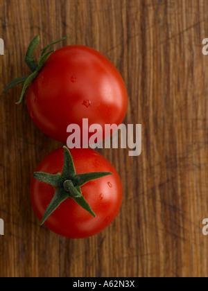 Pomodori shot con professionisti di medio formato digital Immagini Stock