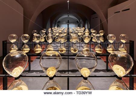 Installazione da Tinkah per UAE. London Design Biennale 2018, Londra, Regno Unito. Architetto: Vari , 2019. Immagini Stock