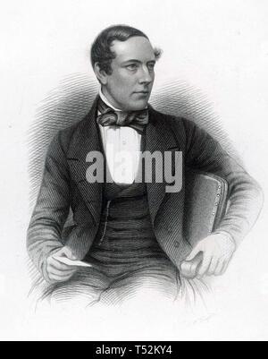 JOHN NICHOLSON (1821-1857) Brigadier-General nel Bengala esercito che schiacciato l ammutinamento indiano del 1857 Immagini Stock