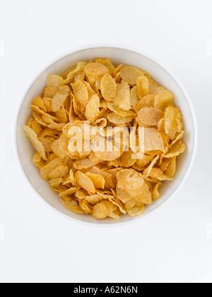 Cornflakes shot con professionisti di medio formato digital Immagini Stock