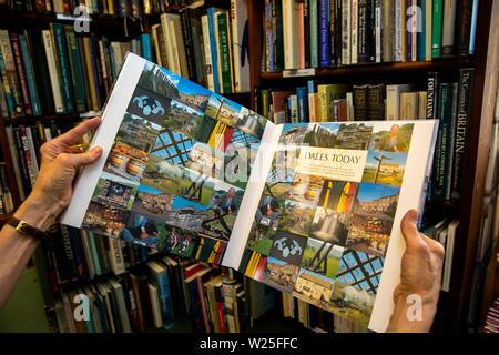 Regno Unito, Cumbria, York, prenota Town, mani Dales oggi prenota in libreria Immagini Stock