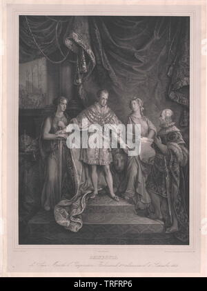 Ferdinando I, imperatore d'Austria, Additional-Rights-Clearance-Info-Not-Available Immagini Stock