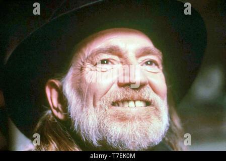 WILLIE NELSON Country Americano musicista e attore di cinema Immagini Stock