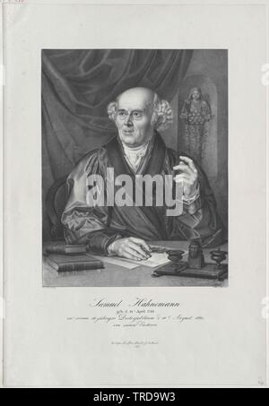 Hahnemann, Samuel Additional-Rights-Clearance-Info-Not-Available Immagini Stock