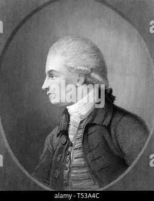 WILLIAM KIRBY (1759-1850) entomologo inglese Immagini Stock