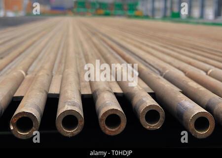 Tubi per caldaie, India, Asia Immagini Stock