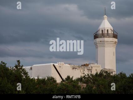 Il rinnovato Shafai moschea, Mar Rosso Stato, Suakin, Sudan Immagini Stock