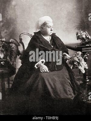 La regina del Regno Unito di Gran Bretagna e Irlanda Victoria Immagini Stock