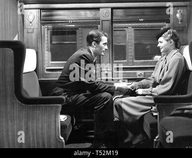SPELLBOUND 1945 Alfred Hitchcock film con Ingrid Bergman e Gregory Peck Immagini Stock