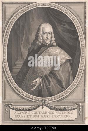 Contarini, Aloysius, vissuta secondo H. del XVII secolo, Additional-Rights-Clearance-Info-Not-Available Immagini Stock