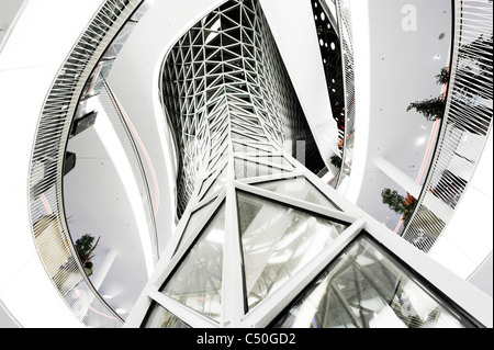 Galleria Zeil, architettura moderna, creativo, Frankfurt am Main, Hesse, Germania, Europa Immagini Stock