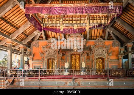 Indonesia Bali Ubud, Royal Palace Immagini Stock