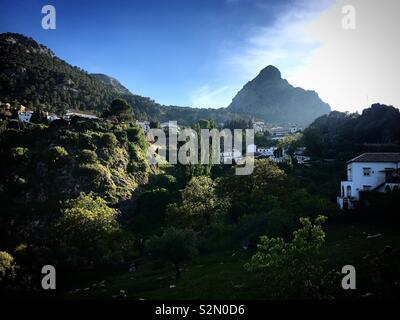 Grazalema, Cadice, Andalusia, Spagna Immagini Stock