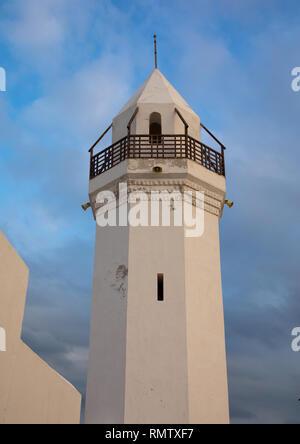 Il rinnovato Hanafi moschea, Mar Rosso Stato, Suakin, Sudan Immagini Stock