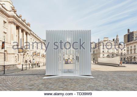 Installazione da parte di architetti Tabanlioglu per la Turchia. London Design Biennale 2018, Londra, Regno Unito. Architetto: Vari , 2019. Immagini Stock
