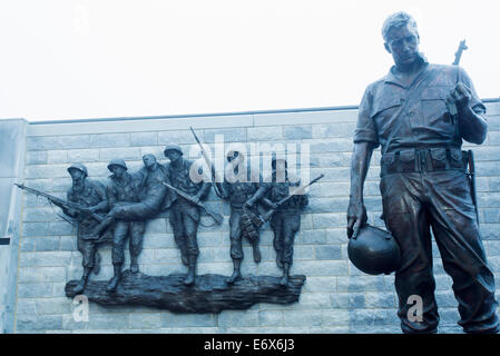 Stati Uniti d'America,New Jersey, Atlantic City, coreano Memoriale di guerra Immagini Stock