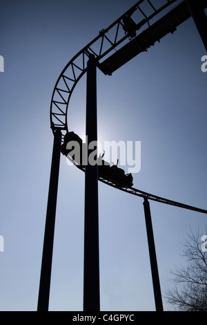 Rollercoaster Immagini Stock