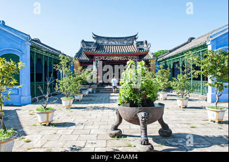 Van Hoa Le Nghia tempio, antica città di Hoi An, Vietnam Immagini Stock