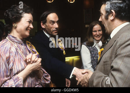 Jeremy Thorpe MP e moglie Marion Thorpe 1979 Devon UK HOMER SYKES Immagini Stock