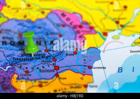 Transilvania Romania Cartina.Transilvania Romania Mappa Foto Stock Alamy
