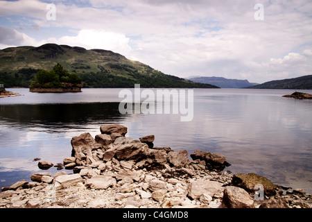 Loch in Scozia Immagini Stock