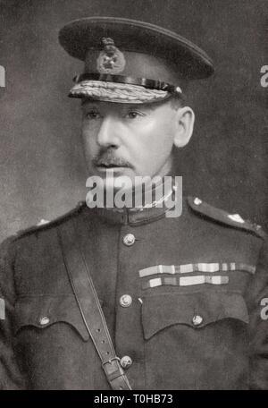 Il maggiore generale Sir Charles Vere Ferrers Townshend, India, Asia Immagini Stock