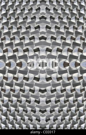 Architettura astratta, la struttura a nido d'ape Immagini Stock