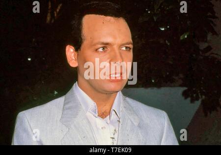 GARY NUMAN pop inglese cantante e musicista circa 1984 Immagini Stock