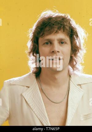 Paolo NICHOLAS inglese cantante pop circa 1976 Immagini Stock