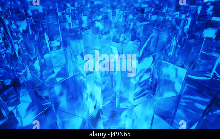 Abstract background - 3D illustrazione Immagini Stock