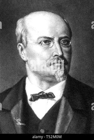 JOACHIM RAFF (1822-1882) tedesco-svizzero compositore e musicista Immagini Stock
