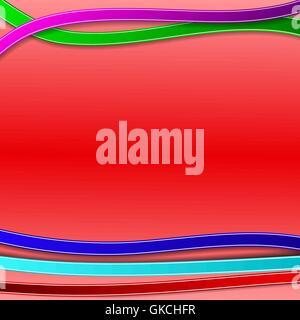 Abstract sfondo con linee colorate Immagini Stock