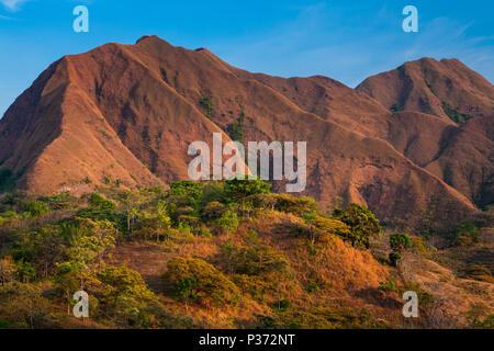 La bellissima Cerros los Picachos de Ola montagne, Cocle Affitto provincia, Repubblica di Panama. Immagini Stock