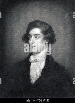 WILLIAM BECKFORD (1760-1844) romanziere inglese e collezionista d'arte Immagini Stock