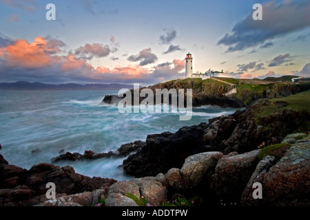 Fanad Head Lighthouse, Co Donegal, Irlanda. Immagini Stock