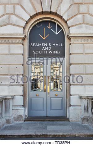 Porta segno. London Design Biennale 2018, Londra, Regno Unito. Architetto: Vari , 2019. Immagini Stock