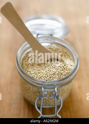 La quinoa shot con Hasselblad medio formato digitale pro Immagini Stock