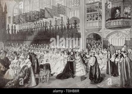 Royal Wedding di Edward VII e Alexandra della Danimarca, India, Asia Immagini Stock