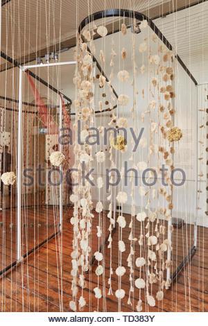 Installazione da TRImarchi collettiva per l'Argentina. London Design Biennale 2018, Londra, Regno Unito. Architetto: Vari , 2019. Immagini Stock