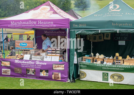 Parco Stonor food festival. Stonor, Henley-on-Thames, Oxfordshire, Inghilterra Immagini Stock