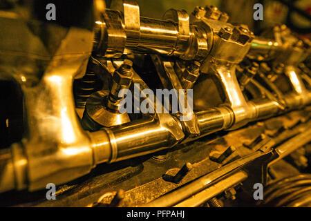 Motore aeronautico closeup Immagini Stock