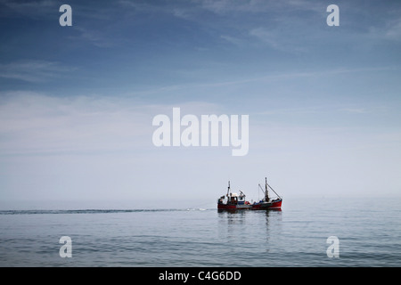 barca da pesca Immagini Stock