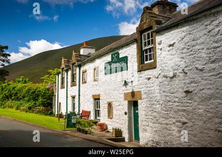 Regno Unito, Cumbria, York, Caultey, Cross Keys, 1732 Temperanza Inn Immagini Stock