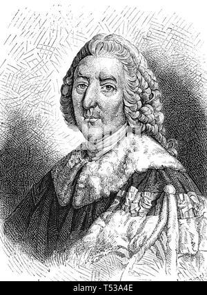 WILLIAM PITT IL VECCHIO,1° Conte di Chatam (1708-1778) inglese statista Whig Immagini Stock