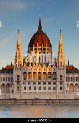 Ungherese edificio Parliamnet, Budapest, Ungheria Immagini Stock