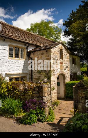 Regno Unito, Cumbria, York, Brigflatts, Società Religiosa degli Amici, 1675 Quaker Meeting House esterno, Immagini Stock